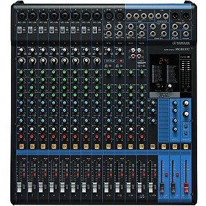 Mesa De Som Yamaha Mg16xu 16 Canais Mixer Com Efeitos