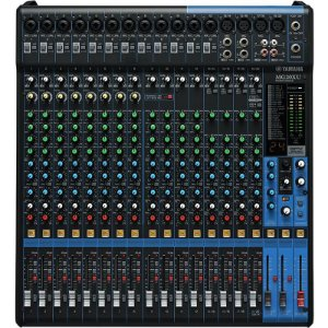Mesa De Som Yamaha Mg20xu 20 Canais Mixer Com Efeitos