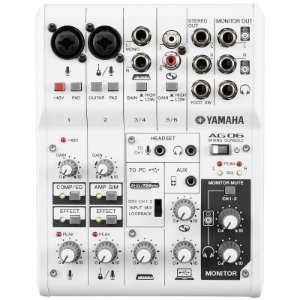 Mesa E Interface Yamaha Ag06 Usb 6 Canais