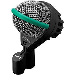 Microfone Akg D112 MkII Para Bumbo E Percussão