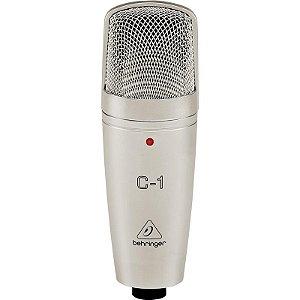 Microfone Condensador Behringer C-1 Com Estojo