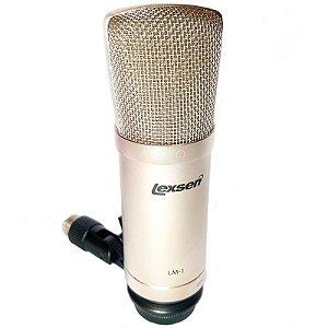 Microfone Condensador Profissional Lexsen LM-1