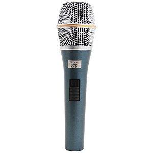 Microfone Dinâmico Kadosh K-98 Com Fio