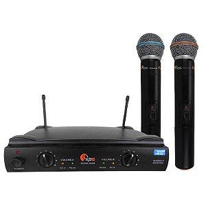 Microfone Dinâmico Kadosh Kdsw 402M Sem Fio