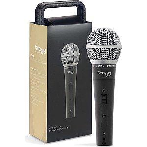 Microfone Profissional Dinâmico Stagg Sdm50