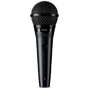 Microfone Shure Pga58 Vocal Cardioide Dinâmico