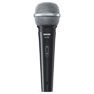 Microfone Shure Sv100 Dinâmico Com Cabo