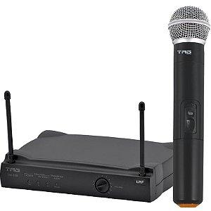 Microfone Tagima Tag Sound Sem Fio UHF Com Estojo E Pilhas TM559