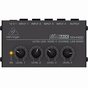 Mixer De Linha Behringer Micromix MX400 Ultra