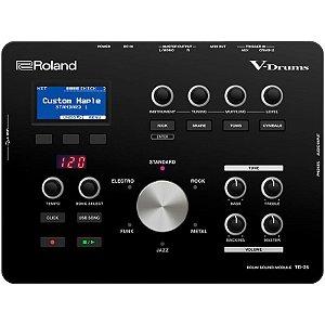 Módulo Para Bateria Eletrônica Roland V-Drums Td-25