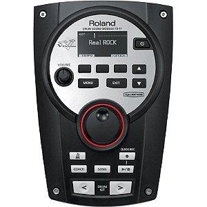 Módulo Roland Para Bateria Eletrônica V-Drums TD-11 V-Compact