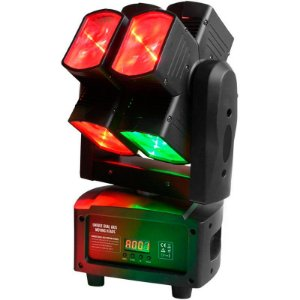 Moving Head Pls EightSquare 8 Leds Rgbw
