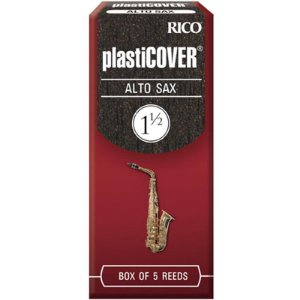 Palheta Plasticover Alto Sax 1.5 Rico Rrp05asx150 C/ 5 Unidades
