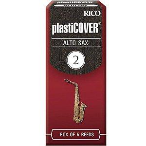 Palheta Plasticover Alto Sax 2 Rico Rrp05asx200 C/ 5 Unidades