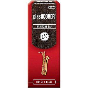 Palheta Plasticover Sax Baritono 1.5 Rico Rrp05bsx150 C/ 5 Unidades