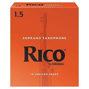 Palheta Rico Para Sax Soprano Ria 1015