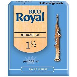 Palheta Rico Royal Rib1015 Sax Soprano 1.5 C/10