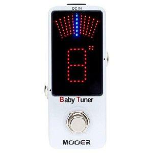 Pedal Afinador Mooer Micro Baby Tuner MTU1