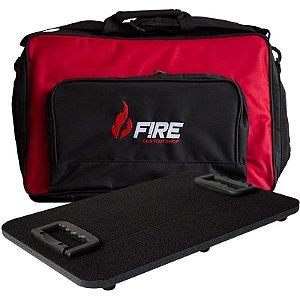 Pedalboard 45 Fire Bag Bolsa Vermelha