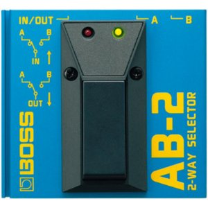 Pedal Boss AB-2 Seletor de 2 Canais Footswitch