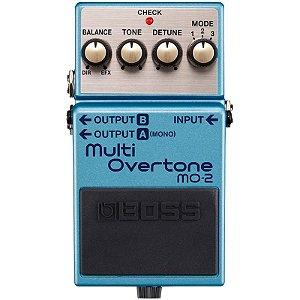 Pedal Boss MO-2 Multi Overtone Guitarra e Contra-Baixo