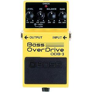 Pedal Boss ODB-3 Bass OverDrive Para Contra-Baixo