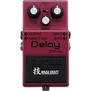 Pedal Boss Waza Craft Delay Dm-2w