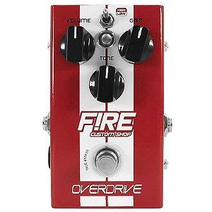 Pedal Guitarra/Baixo Fire Overdrive