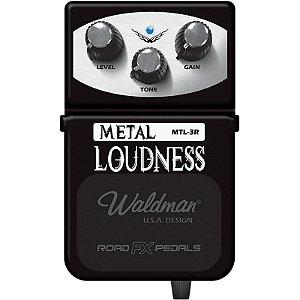 Pedal Guitarra Distorção Waldman Metal Loudness Mtl3r