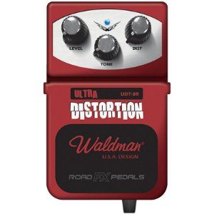 Pedal Guitarra Distorção Waldman Udt3r Ultra Distortion