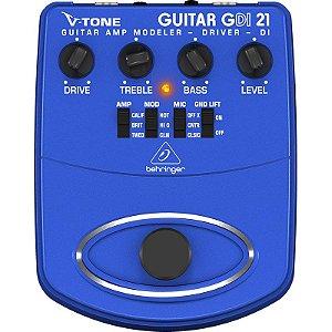 Pedal Guitarra Simulador De Amplificador Behringer Gdi21