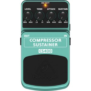 Pedal Para Guitarra Behringer Cs400 Compressor Sustainer