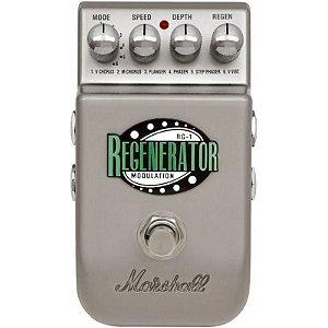 Pedal Para Guitarra Marshall RG-1 Regenerator Chorus Flanger Phaser