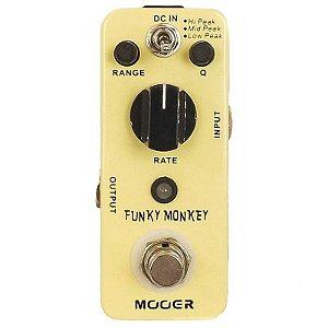 Pedal Para Guitarra Mooer Micro Funky Monkey Auto Wah Mft2