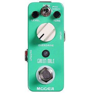 Pedal Para Guitarra Mooer Micro Green Mile Overdrive Mmo