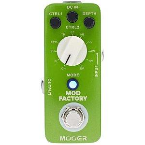 Pedal Para Guitarra Mooer Micro Mod Factory Multi-Modulação Mme1