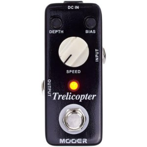 Pedal Para Guitarra Mooer Micro Trelicopter Optical Tremolo Mtot