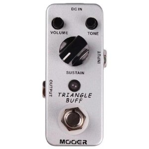 Pedal Para Guitarra Mooer Micro Triangle Buff Fuzz Tone Mtbf