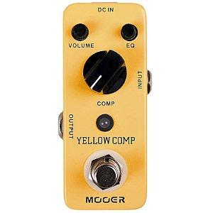Pedal Para Guitarra Mooer Micro Yellow Comp Compressor Mcs2