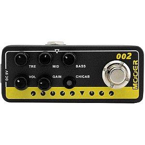 Pedal Para Guitarra Mooer Pre Amp Uk Gold 900 M002
