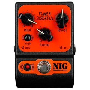 Pedal Para Guitarra Nig Power Distortion Ppd