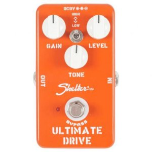 Pedal Para Guitarra Overdrive Shelter Ultimate Drive Sud
