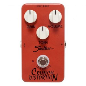Pedal Para Guitarra Shelter Chrunch Distortion Scd