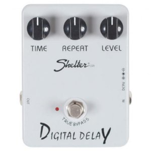 Pedal Para Guitarra Shelter Digital Delay Sdd