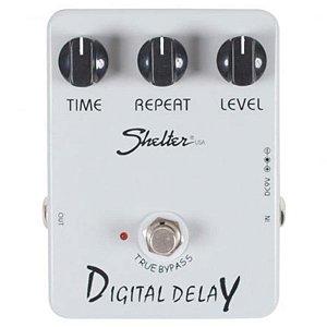 Pedal Para Guitarra Shelter Digital Delay Sdd