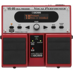 Pedal Para Voz Boss Ve20 Vocal Performer