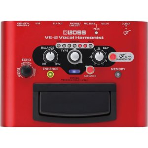 Pedal Para Voz Boss Ve2 Vocal Harmonist