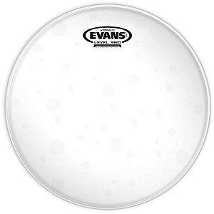 """Pele Hidráulica Para Caixa Tom 13"""" Evans Hydraulic Glass Tt13hg Transparente"""