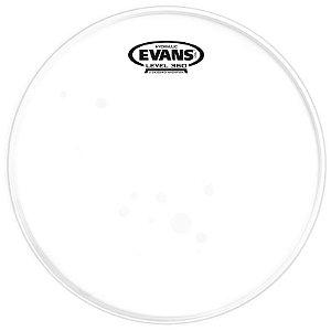 """Pele Hidráulica Para Tom 8"""" Evans Hydraulic Glass Tt08hg Transparente"""