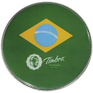 Pele Pandeiro Brasil 10 Polegadas Pele Timbra P3